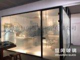 智能调光玻璃雾化玻璃办公隔断墙淋浴房