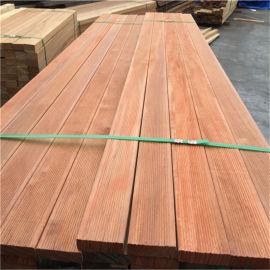 防腐木菠萝格扣板工厂订做,室外防腐木菠萝格大板加工
