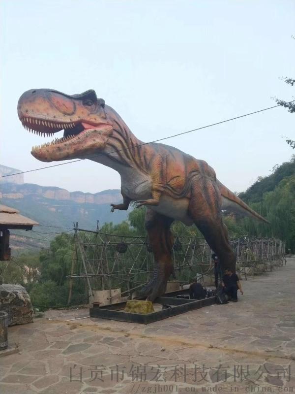 四川仿真恐龙生产基地