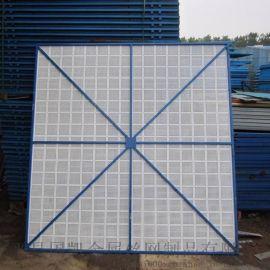建筑冲孔网片 绿色安全防护网片