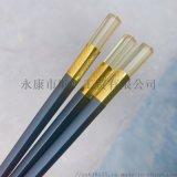 酒店家用高檔合金筷子 防滑防黴合金筷子耐高溫消毒筷