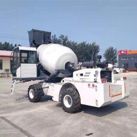 水泥混凝土搅拌运输车 沃特厂家 自上料运输搅拌车