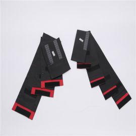 射线探伤搭扣人造革暗袋 磁性暗袋双层