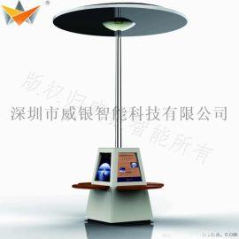 杭州西湖景区太阳能椅,公园智能椅专业制造厂家