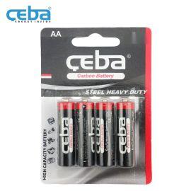 AA型5号遥控器碳锌电池R6P一次性干电池1.5V