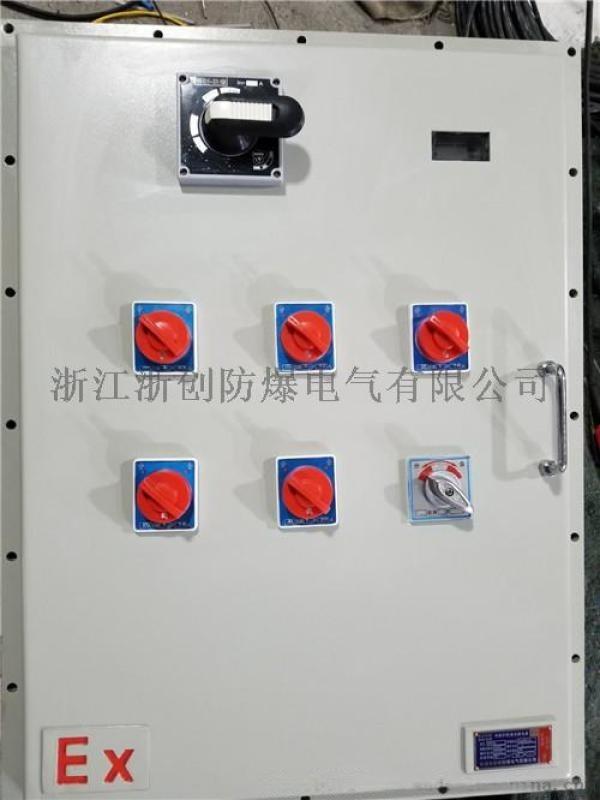 户外防雨壁挂式防爆配电箱