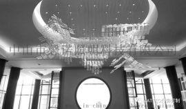 馨诺非标酒店灯 会所灯饰   LED铁艺工程灯