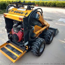 江门蔬菜大棚小铲车可在室内用的铲车不设轮间差速器