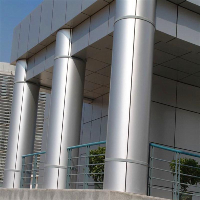圆角造型包柱铝单板 直角边包柱金属铝单板