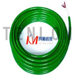 PU护套聚氨酯聚醚电缆 防水防紫外线 海洋电缆