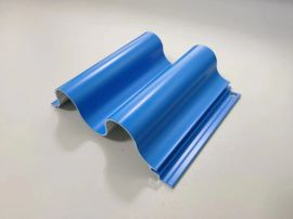 型材造型凹凸铝长城板 铝制品金属木纹铝长城板