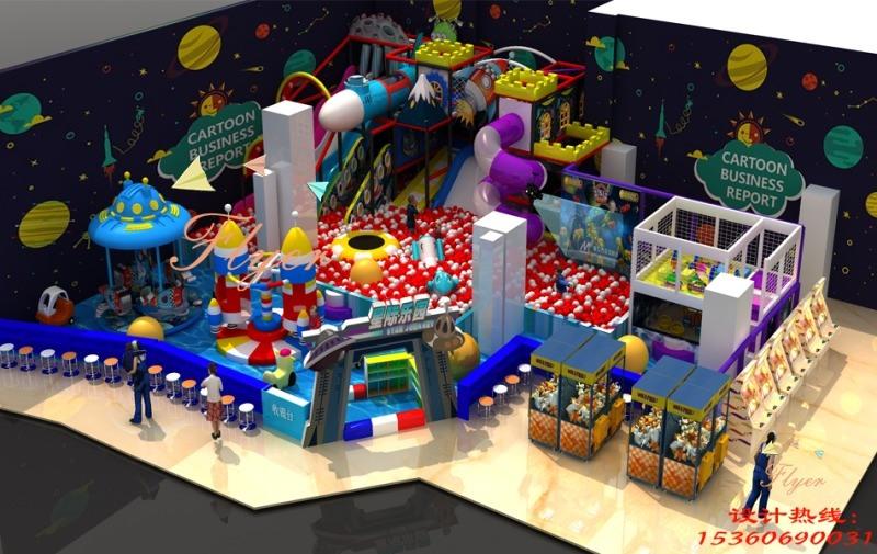 新型太空系列淘氣堡 兒童樂園設備 廣州飛翔家太空系列淘氣堡
