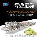 江西全自动土豆萝卜球茎类果蔬净菜加工成套设备