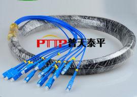 SC防水尾缆 SC-24芯防水单模/多模光纤连接器