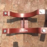 化工标准T型管托  加筋管夹焊接型T型管托