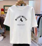 地摊服装批发白色t恤女ins超火纯棉短袖2020夏装新款宽松打底上衣