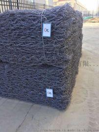 河道整治石笼网  装石六角网笼  承亚格宾笼