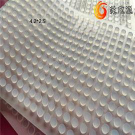 圆柱形耐磨硅胶垫片 橡胶垫圈 减震防滑橡胶垫