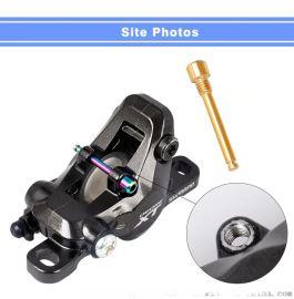 钛紧固件GR5六角螺栓摩托车零件 钛合金摩托车螺栓