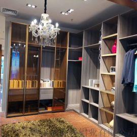 全铝极简衣柜移门材料型材配件 江苏厂家加盟