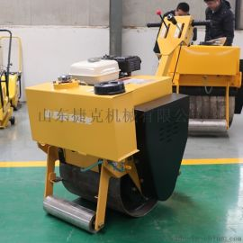 0.6吨小型压路机 单钢轮压路机 捷克机械