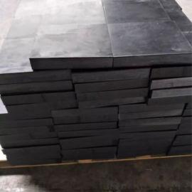 弹性缓冲橡胶板 隔震橡胶垫板 减震橡胶垫层