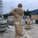 廣州園林卡通雕塑 名圖玻璃鋼卡通公仔雕塑