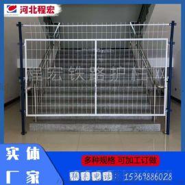 高速铁路框架护栏网隔离铁路护栏网隔离栅双边丝护栏网