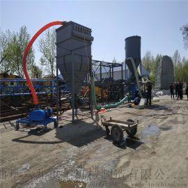 长距离粉煤灰抽吸机 螺旋气力输送泵 六九重工 真空