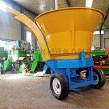 養殖場專用草捆式秸稈粉碎機 圓筒式草捆破碎機