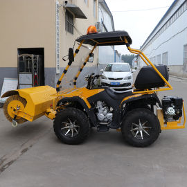 大型扫雪机 多功能除雪车 装载机式扫雪车