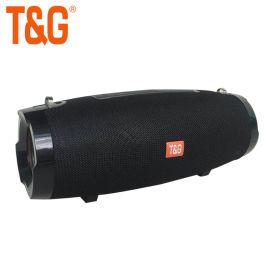 小战鼓户外布艺4级防水无线收音藍牙音箱TG504