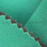 天鵝絨火焰貼合_滌綸天鵝絨火焰複合海綿燒貼邊綸布