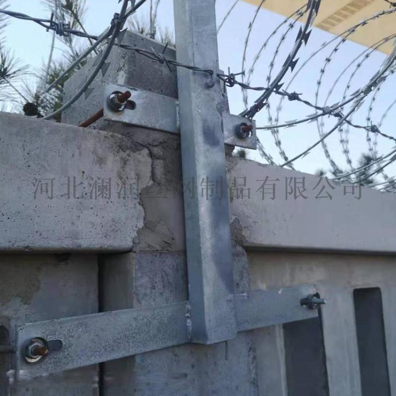 厂家带刺铁丝镀锌刀片刺绳 小区围墙刺丝滚笼