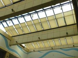 采光顶顶部电动FSS天棚窗帘