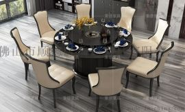 厂家直销电动餐桌家用小餐桌实木餐桌
