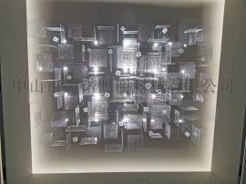 玻璃片沙盘定制灯具