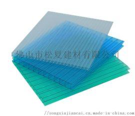 阳光板透明雨棚温室采光防晒遮阳板