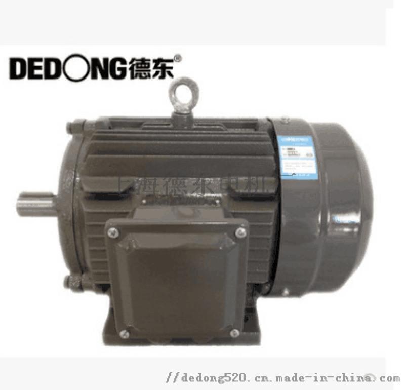 德东高效电机  YE2-132M1-6  4KW