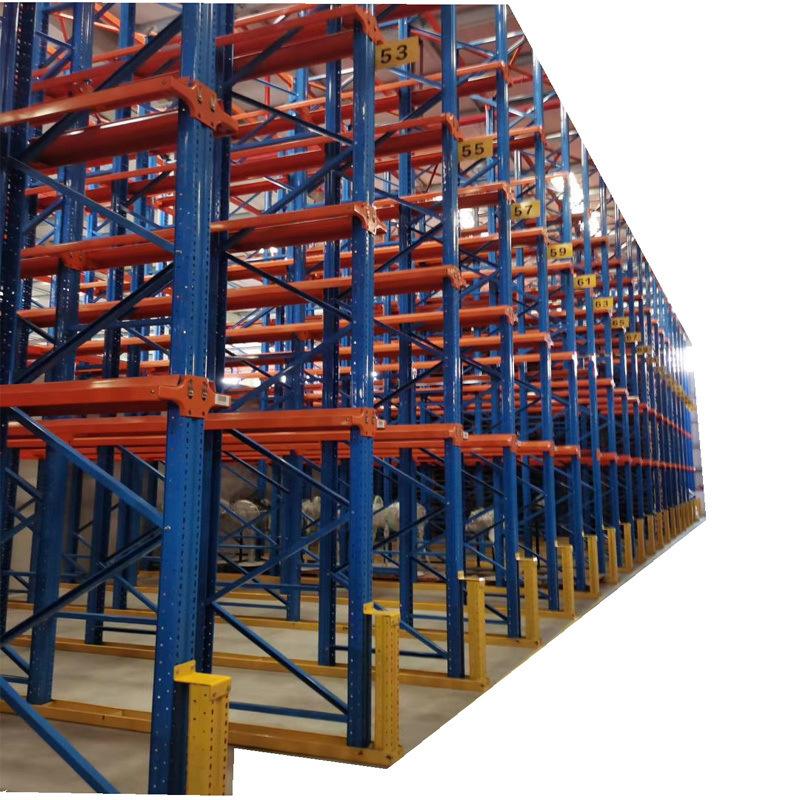 广东仓库通廊式托盘货架,进车式货架厂