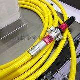 QBH鐳射器光纖保護管高功率鐳射器鎧裝管光纖