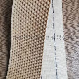 卷布机用粒面胶皮 防滑刺皮带