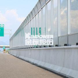 江西宜春高速公路隔音墙 宜春高架桥隔音屏施工