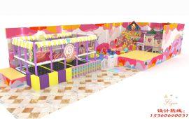 新型糖果主题淘气堡 室内儿童乐园 广州飞翔家糖果主题淘气堡