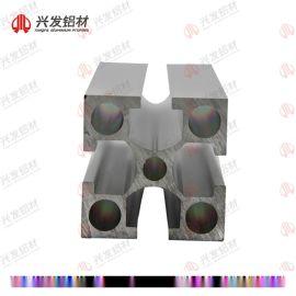 欧标流水线框架规格齐全兴发铝业直销价