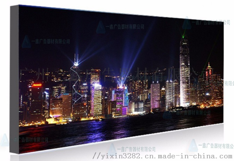 软膜灯箱超薄 led无边框卡布灯箱广告牌挂墙式定做