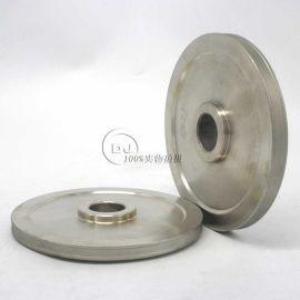 订做非标光学仿形砂轮 电镀异型砂轮磨头厂家