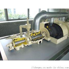 汽轮机发电机组解剖展示模型