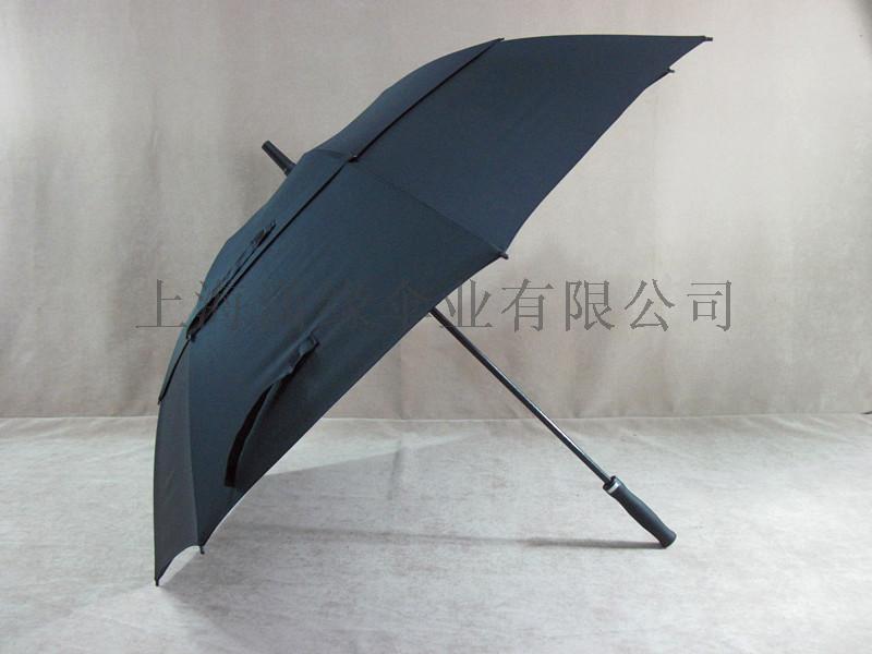 高尔夫礼品伞全纤维直杆广告伞弯柄直杆商务高尔夫加大晴雨伞
