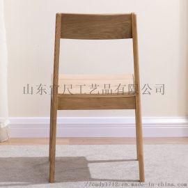 实木餐椅子简约餐桌椅组合